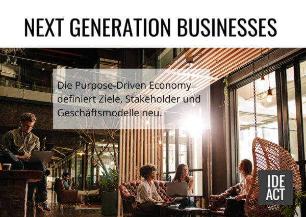 Next generation businesses