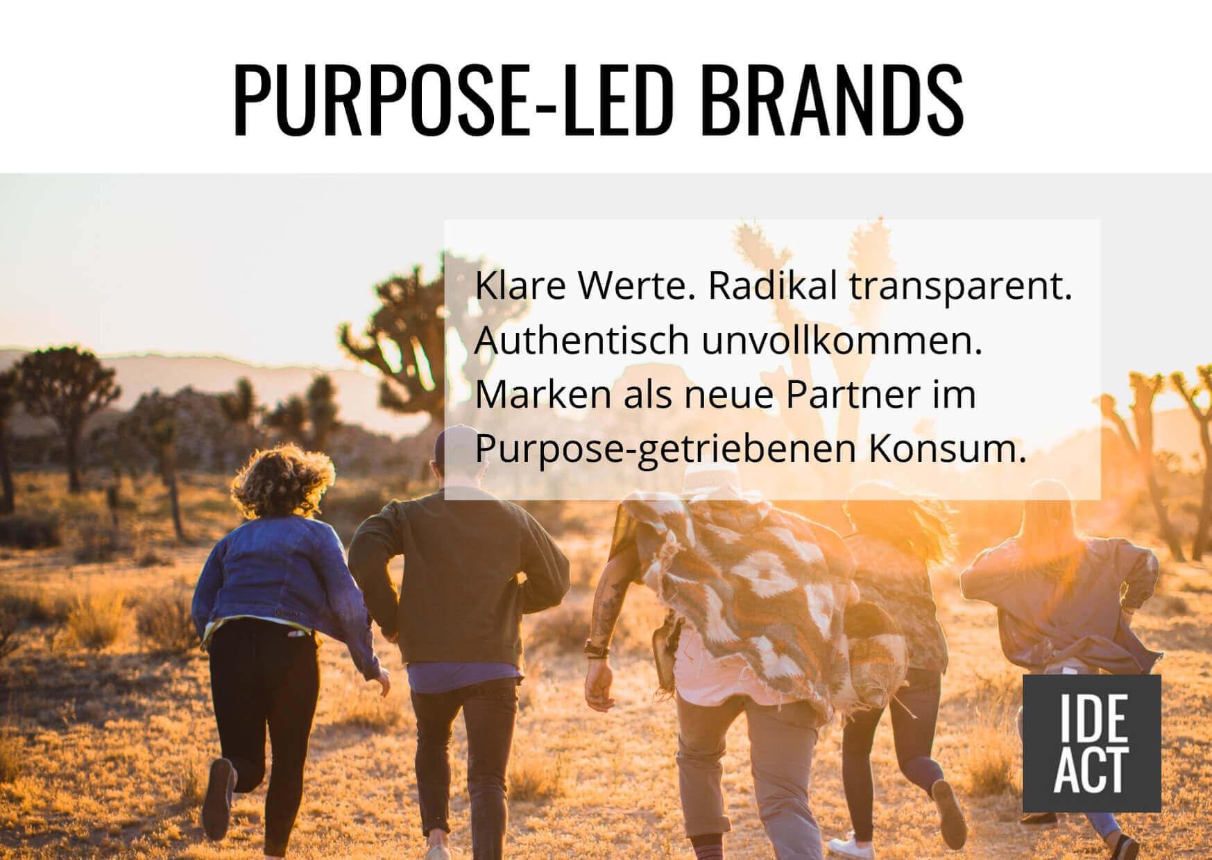 Purpose led brands