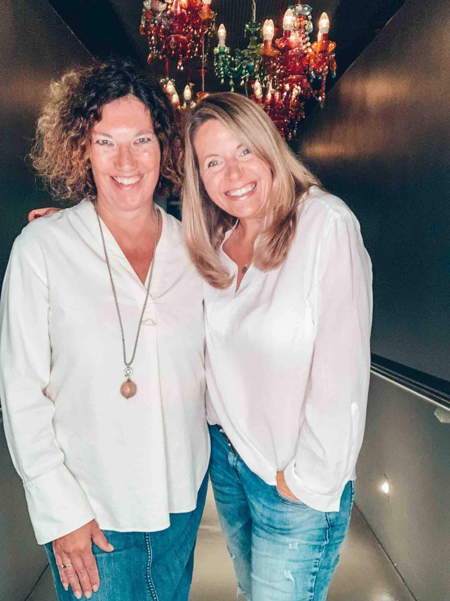 Simone Niedenzu und Angela Lehmann, Grüderinnen von IDEACT
