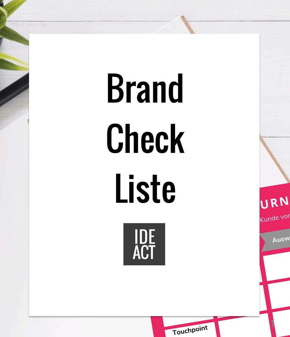 Brand Check Liste DEACT